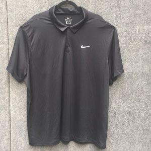 Nike Men's Dri-fit Polo, Black, 3XL